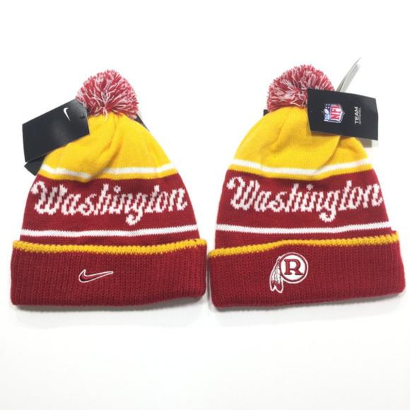 5a2080c2 Washington Redskins Nike Knit Hat Removable Pom NWT